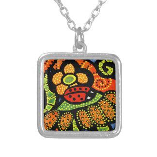 Ladybug Charm Necklace Wearable Art