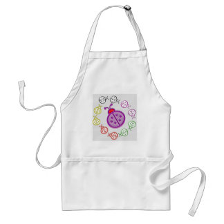 LadyBUG Dance: KIDS love Lady BUG n insects as pet Standard Apron
