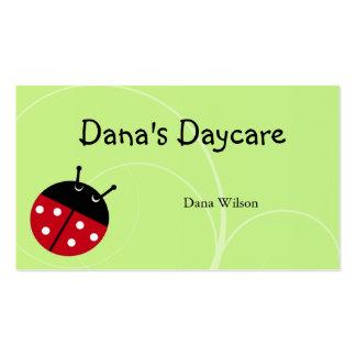 Ladybug Daycare Business Card