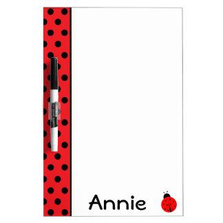 Ladybug Dry Erase Board