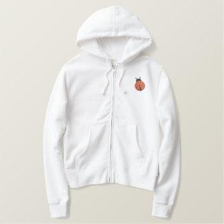 Ladybug Embroidered Hoodie