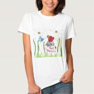 Ladybug Fairy Cat T-Shirt