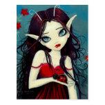 Ladybug Fairy Postcard