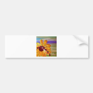 LADYBUG FOLLOW THE LEADER BUMPER STICKER