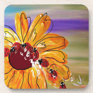 LADYBUG FOLLOW THE LEADER DRINK COASTERS
