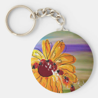 LADYBUG FOLLOW THE LEADER KEY RING