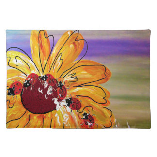 LADYBUG FOLLOW THE LEADER PLACEMAT