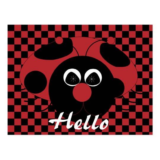 Ladybug Fun Postcard
