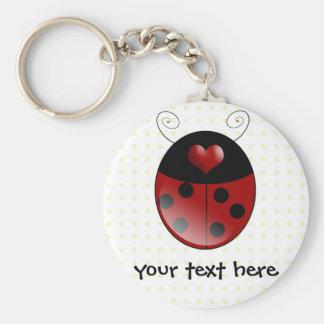 Ladybug Gifts Key Ring