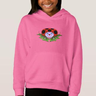 Ladybug Girl's Hoodie