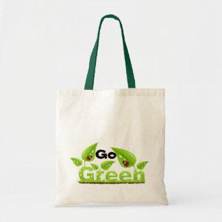 Ladybug Go Green Tote Bag
