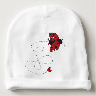 ladybug hat for him baby beanie