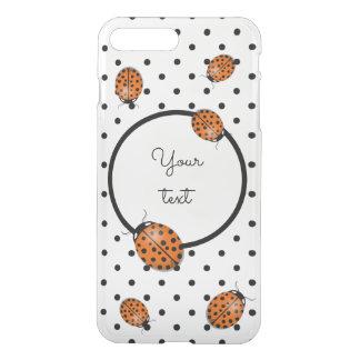Ladybug in orange iPhone 8 plus/7 plus case