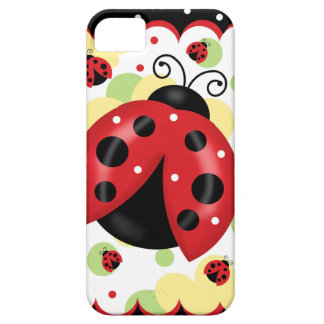 Ladybug iPhone SE and 5/5S Barely There Case