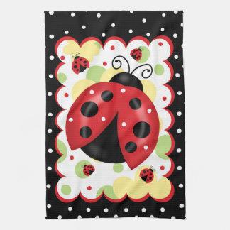 Ladybug Kitchen Towel