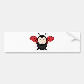 Ladybug Ladybird Bumper Sticker