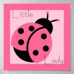 "Ladybug ""Little Lady"" Print"