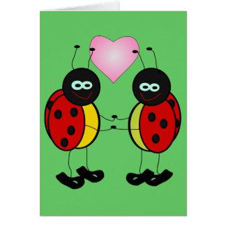 Ladybug Love Greeting Card