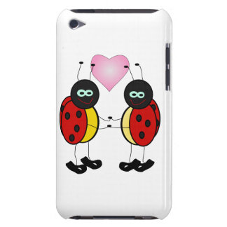 Ladybug Love iPod Case-Mate Cases