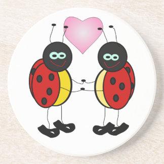Ladybug Love Beverage Coaster
