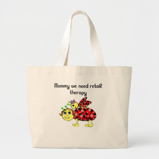 Ladybug Love Customize or add Text Large Tote Bag