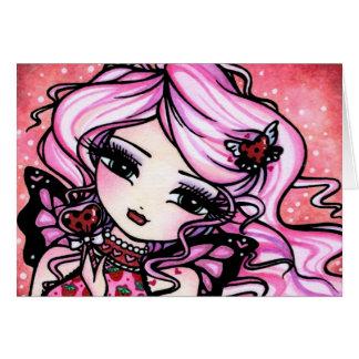 Ladybug Love Fairy Valentine Card