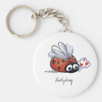 Ladybug lovebug key ring