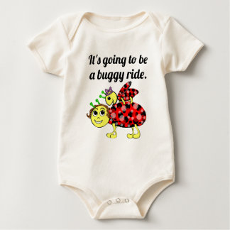 Ladybug Movie Buff Baby Bodysuit