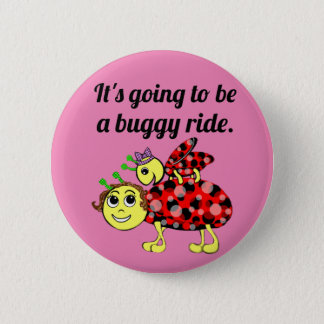 Ladybug Movie Buff Buckle or Button Up
