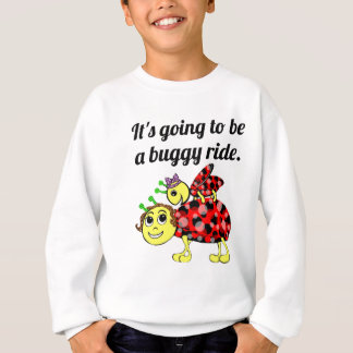 Ladybug Movie Buff Sweatshirt