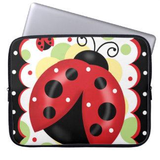 """Ladybug Neoprene Laptop Sleeve 15"""""""