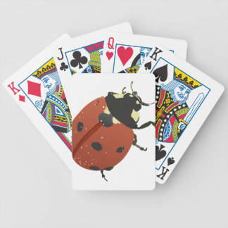 LadyBug Office Home  Personalize Destiny Destiny'S Bicycle Playing Cards