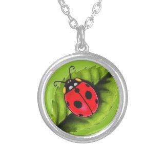 Ladybug on a Leaf Custom Jewelry