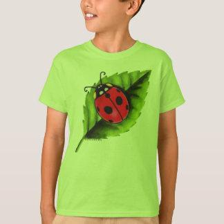 Ladybug on a Leaf T-Shirt
