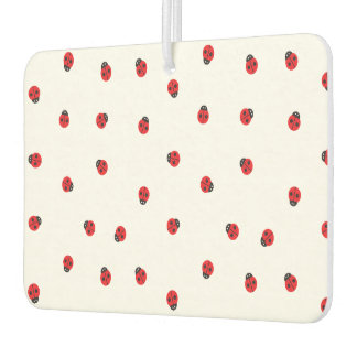Ladybug Pattern Car Air Freshener