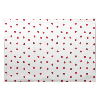 Ladybug Pattern Cloth Placemat