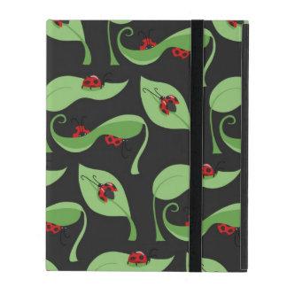 Ladybug Pattern Powis iPad 2/3/4 case Cover For iPad