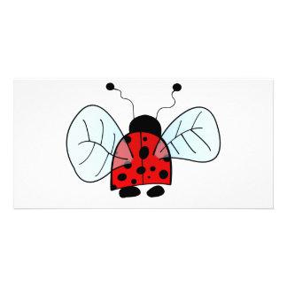 Ladybug Photo Card Template