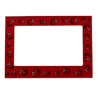 Ladybug Picture Frame Ladybird Art Frame Magnetic Frames