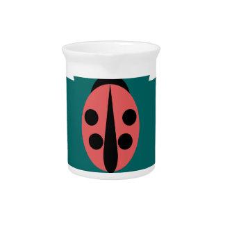 Ladybug Pitcher