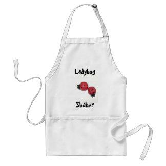 Ladybug Shaker Adult Apron
