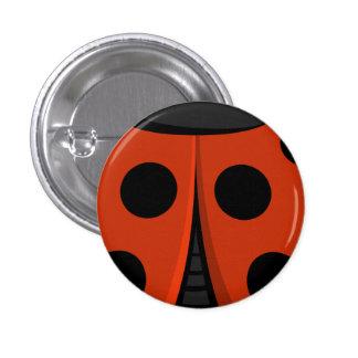 Ladybug Shell 3 Cm Round Badge