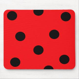 Ladybug Spots Mousepad