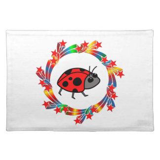 Ladybug Stars Placemat