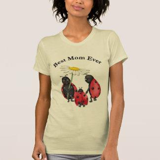 Ladybug Stroll - Best Mom Tee Shirt