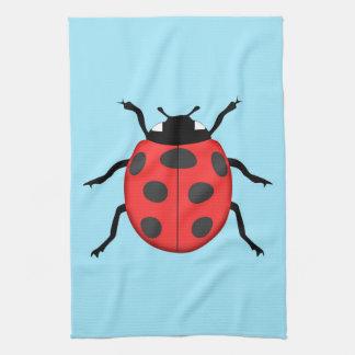 Ladybug Tea Towel