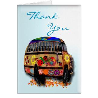 Ladybug Thank You Greeting Card