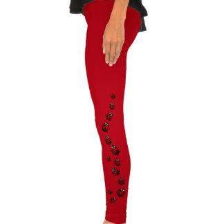 Ladybug Tights Ladybird Leggings Insect Art Pants