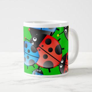 Ladybug Wallpaper Jumbo Mug