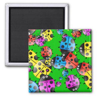 Ladybug Wallpaper Magnet